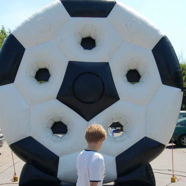 Spinning Ball - aufblasbare Fußball Torwand